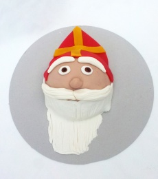 Sinterklaas taart voor de feestdagen